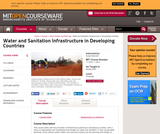 Water and Sanitation Infrastructure in Developing Countries, Spring 2007