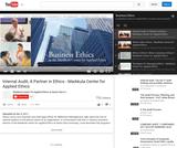 Internal Audit, A Partner in Ethics - Markkula Center for Applied Ethics