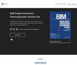 BIM Project Execution Planning Guide, Version 3.0