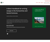 A Short Handbook for writing essays in the Humanities and Social Sciences