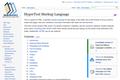 HyperText Markup Language