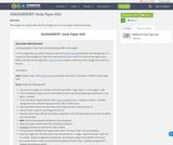 ASSIGNMENT: Soda Paper Edit