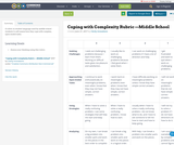 Coping with Complexity Rubric —Middle School