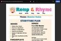 Romp & Rhyme Storytime Lesson Plan: Monster Dudes