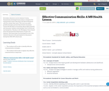 Effective Communication Skills: A MS Health Lesson