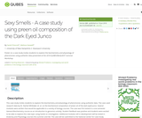 Sexy Smells - A case study using preen oil composition of the Dark Eyed Junco