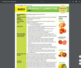 Health Literacy: Grade 2-3 Lesson, Oranges/Clementines