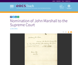 Nomination of John Marshall to the Supreme Court