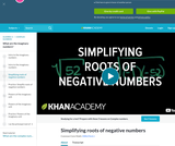 Complex Numbers: Imaginary Roots of Negative Numbers