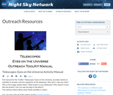 Telescopes: Eyes on the Universe Outreach Toolkit