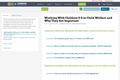 Working With Children 0-5 in Child Welfare and Why They Are Important