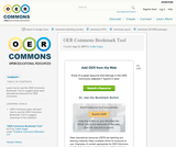 OER Commons Bookmark Tool - Remix