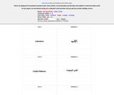 Printable Flash Cards- Al-Kitaab Part I