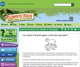Climate Kids: How Do We Know the Climate Is Changing?