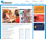 Nevada Discovery Museum Educator Page