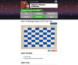 Achi: A Strange Game of Tic Tac Toe