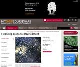Financing Economic Development, Spring 2006