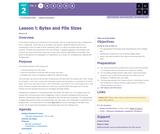 CS Principles 2019-2020 2.1: Bytes and File Sizes