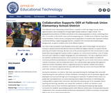 Collaboration Supports OER at Fallbrook Union Elementary School District