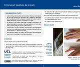 OER-UCLouvain: Entorses et luxations de la main