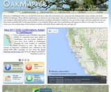 OakMapper: Monitoring Sudden Oak Death in California