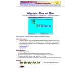 Algebra One on One