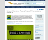 Banks and Alternatives - Personal Finance 101 Conversations, Episode 19