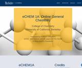 eChem1A, UC Berkeley College of Chemistry