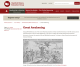Reading Like a Historian: Great Awakening