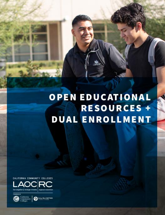 Open Educational Resources + Dual Enrollment