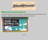 Fossil Hunter Webquest