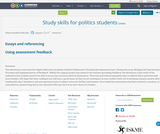 Study skills for politics students