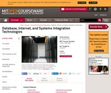Database, Internet, and Systems Integration Technologies, Fall 2013