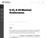 S-ID Musical Preferences