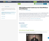 2019 CQI Statewide Conference for Child Welfare and Probation