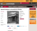 Special Problems in Architecture Studies, Fall 2000