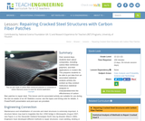 Repairing Cracked Steel Structures with Carbon Fiber Patches