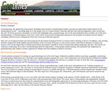 Geotimes: Geoarcheaology