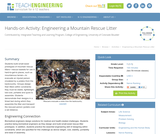 Engineering a Mountain Rescue Litter