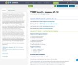 TEESP Level 4 - Lessons 47 - 52