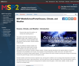 Oceans, climate and weather