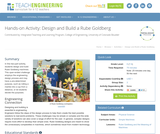 Design and Build a Rube Goldberg