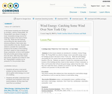 Wind Energy: Catching Some Wind Over New York City