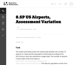 8.SP US Airports, Assessment Variation