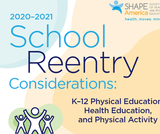 School Reentry Resources: Health and Physical Education