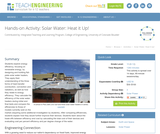 Solar Water: Heat it Up!