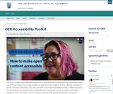OER Accessibility Toolkit