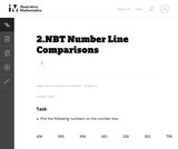 2.NBT Number Line Comparisons
