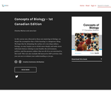 Concepts of Biology - 1st Canadian Edition
