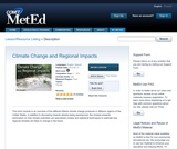 Climate Change and Regional Impacts